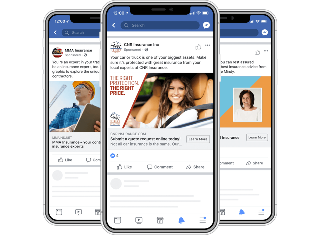Таргетированная реклама в Facebook пример 2