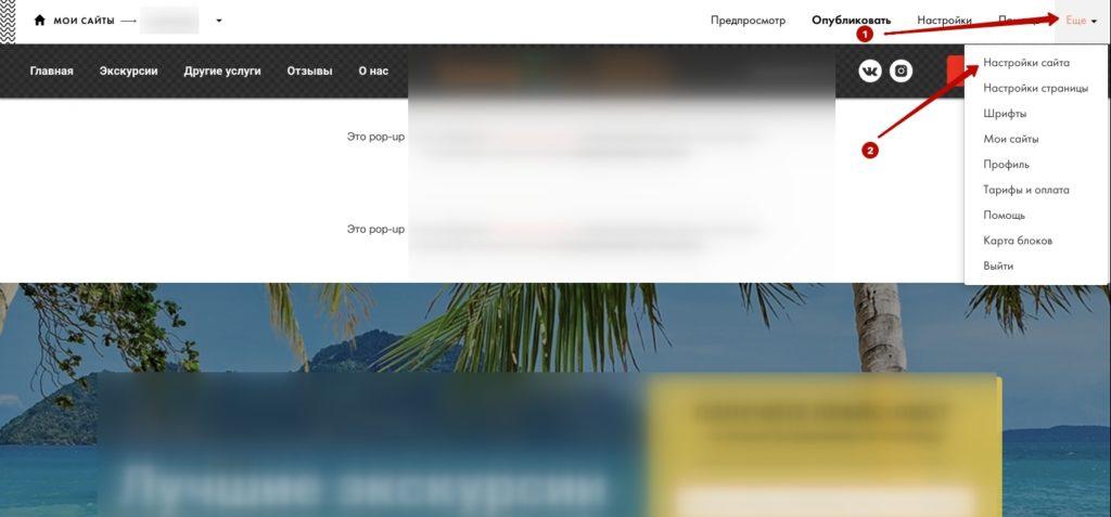 Как установить пиксель Фейсбук на сайт Тильда